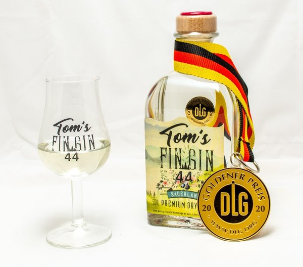 Tom´s Fin Gin 44 0,5 Liter 44%Vol.